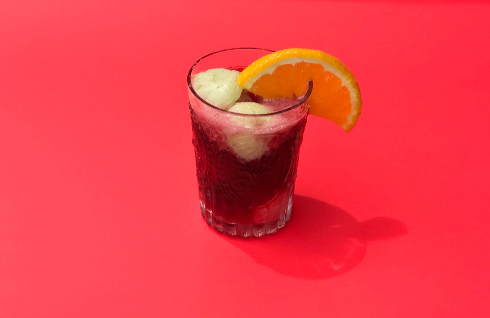 Summer Sangria with Sorbet