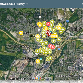 Hartwell History Google Map