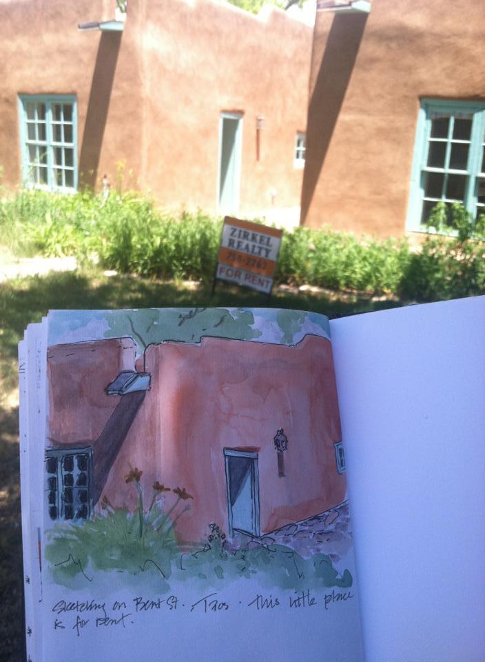 Amy Bogard Taos Artist Retreat