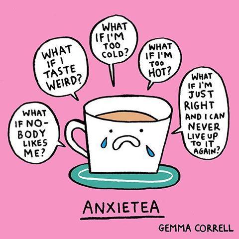 Anxietea Cartoon by Gemma Correll