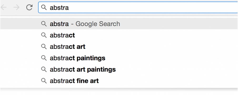 Screenshot showing google search