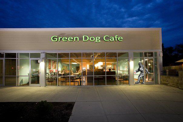 Green Dog Café serving Madisono's