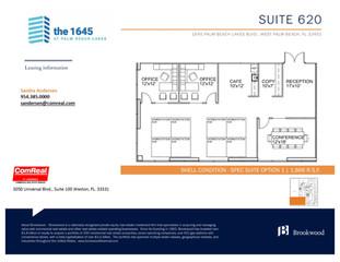 Suite 620 - 1,866 SF