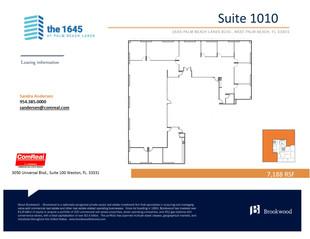 Suite 1010 - 7,188 SF