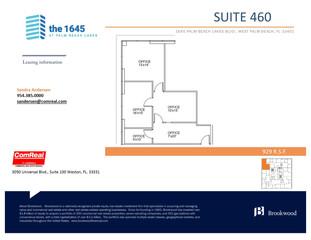 Suite 460 - 929 SF