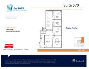 Suite 570 - 1,742 SF