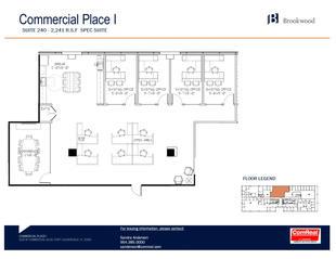 Commercial Place I - Suite 240 (2,241 SF