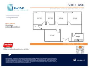 Suite 450 - 1,604 SF
