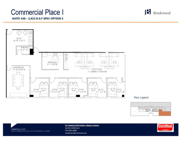 Commercial Place I - Suite 420 - 2,922 SF