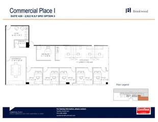 Commercial Place I - Suite 420 - 2,922 SF