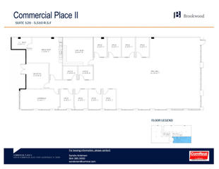 Commercial Place II - Suite 120 - 5,510 SF