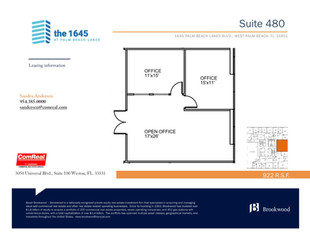 Suite 480 - 922 SF