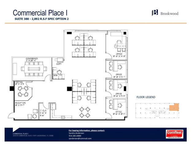 Commercial Place I - Suite 380 - 2,892 SF