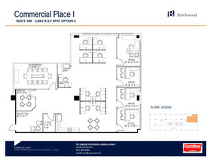 Commercial Place I - Suite 380 - 2,892 SF