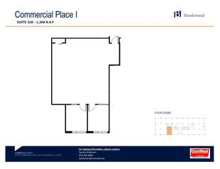 Commercial Place I - Suite 320 - 1,368 SF