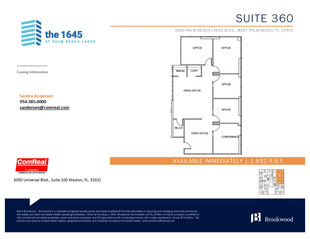 Suite 360 - 1,932 SF