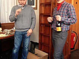 Fantastiskt besök av Koji Nakada