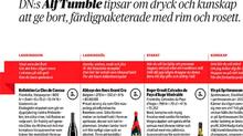 I DN, Alf Tumble recenserar Clos de Caveau