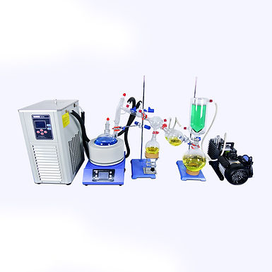 Short Path Distillation with Vacuum Pump Heating System (Free Shipping