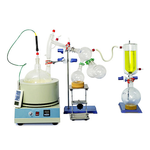 Short Path Distillation Essential Oil Extraction Equip (Free Shipping)