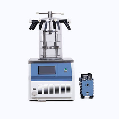 Vacuum Lyophilization Pharmaceutical Machine for Powder (Free Shipping)