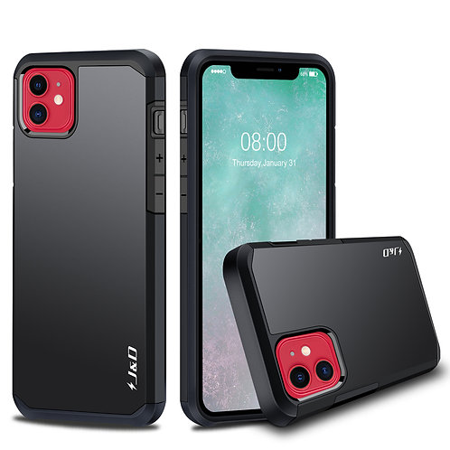 iPhone 11 [Dual Layer] Hybrid Protective Case - Not for iPhone 11 Pro/11 Pro Max