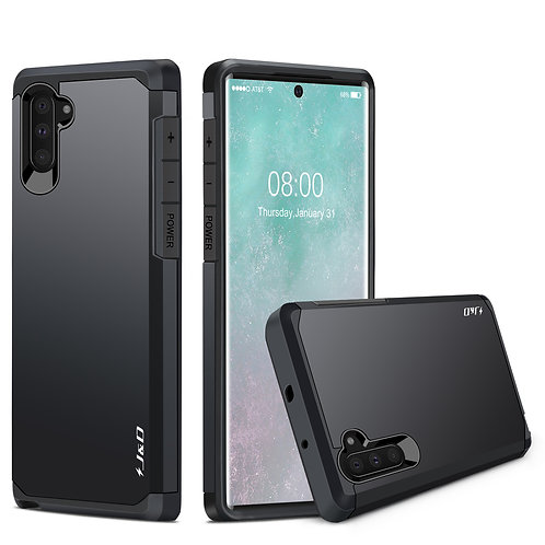Samsung Galaxy Note 10 [Dual Layer] Hybrid Shockproof Protective Bumper Case
