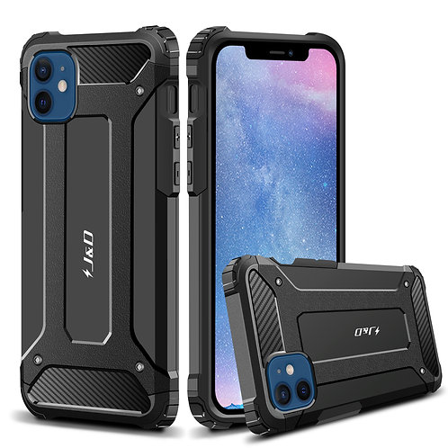 iPhone 12 / iPhone 12 Pro Case, [ArmorBox] [Dual Layer] Shockproof Hybrid Case