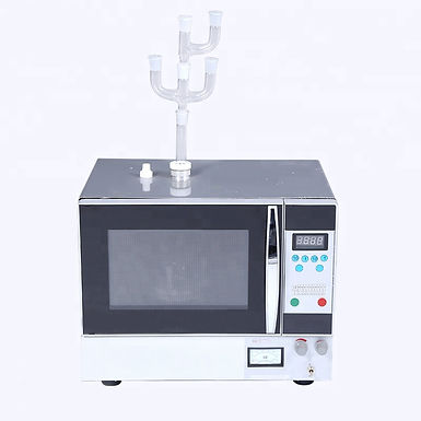 Lab Continuous Radiation Microwave Chemical Reactor (Free Shipping)
