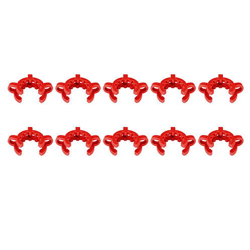 Plastic Joint Clips, 10pcs 29mm #29 Keck Clamp for 29/40 Conical Interface