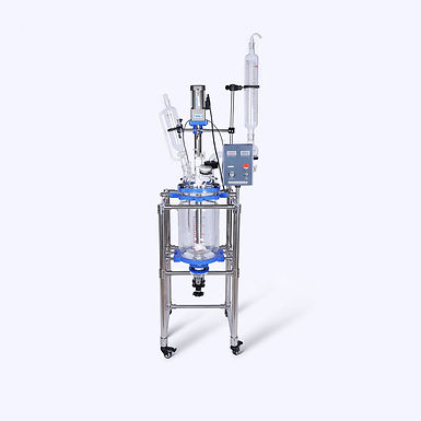 Laboratory Double-Layer Glass Batch Reactor Price 10L (Free Express Shipping)