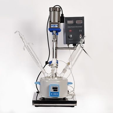 SIngle Layer Laboratory Chemical Reactor 1L (Free Shipping)
