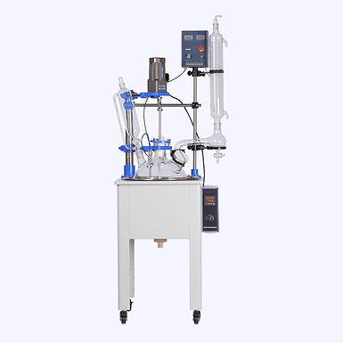 High Borosilicate Glass Lab Reflux Condenser Reactor (Free Shipping)