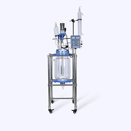 20L Lab Reactor Jacketed Glass Vessel in Reactor (Free Shipping)