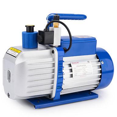 5 CFM 0.3 Pa 1/2 HP 2-Stage Rotary Vane Vacuum Pump, 500 ml Oil Included