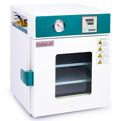 Vacuum Drying Oven with Vacuum Gauge and Digital Controller, 24L/0.9 cu ft