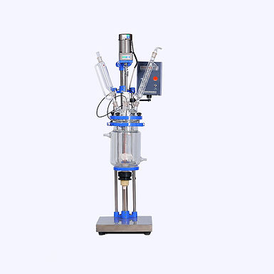 3L Laboratory Stirring Reaction Jacketed Glass Reactor (Free Shipping)