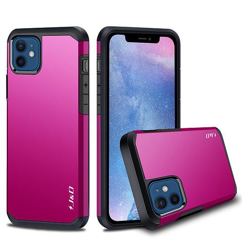 iPhone 12 Mini Case, [Dual Layer] Hybrid Anti-Shock Protective Bumper Case