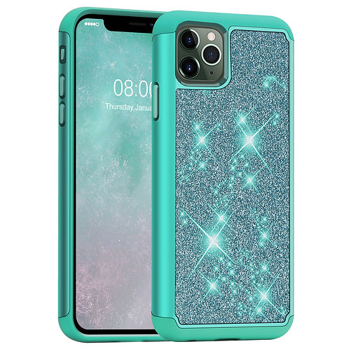 iPhone 11 Pro Max [Glittering] [Dual Layer] Hybrid Case-Not for iPhone 11/11 Pro