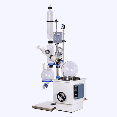 Plant Essential Oil Distiller Equipment Rotary Evaporator (Free Shiping)