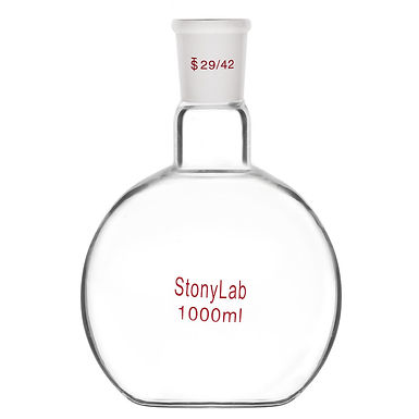 Heavy Wall Single Neck Flat Bottom Flask, with 29/42 Standard Taper Outer Joint
