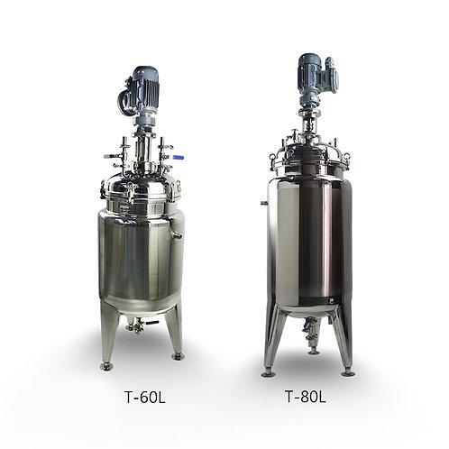Stainless Steel Jacketed Reactor (Free Shipping)