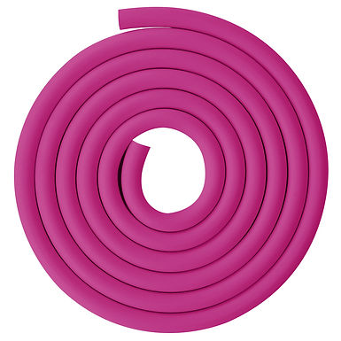 Red Vacuum Rubber Tubing, 18mm (45/64 inch) OD 8mm (5/16 inch) ID