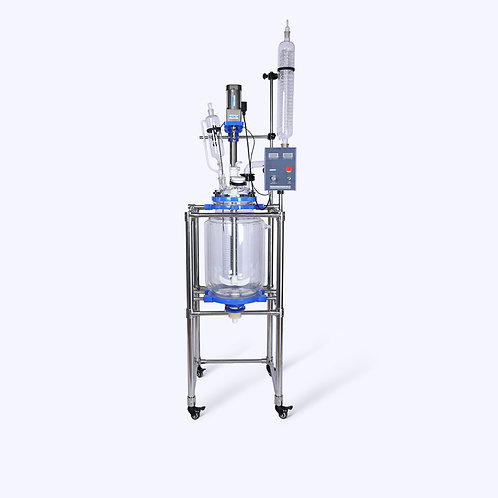 Laboratory Equipment Double Wall Reaction Kettle (Free Shipping)