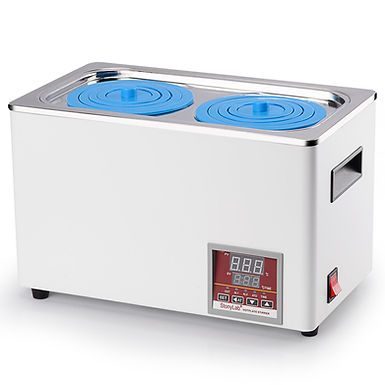 Digital Water Bath with Digital Display and Protective Cover Lid for Lab Use