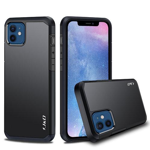 iPhone 12 / iPhone 12 Pro Case, [Dual Layer] Hybrid Anti-Shock Bumper Case