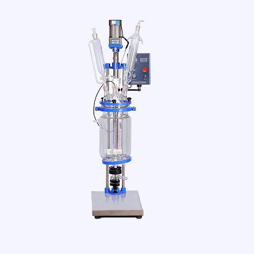 Laboratory Glass Polymerization Biodiesel Reactor 5L (Free Shipping)