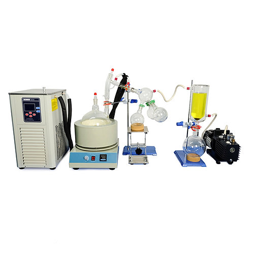 Short Path Molecular Distiller Oil Extract Machine (Free Shipping)
