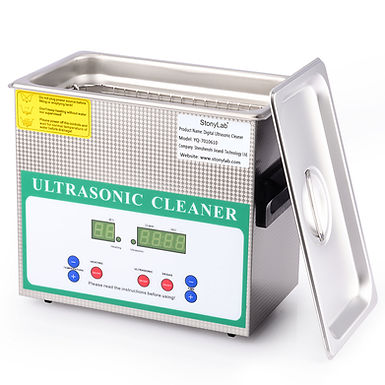 Ultrasonic Cleaner with Digital Display Timer and Heat Control 110V