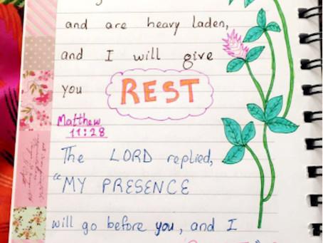 God Gives Rest For Our Souls